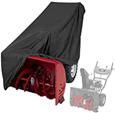 Himal Snow Thrower Cover-Heavy Duty Polyester,Waterproof,UV Protection,Universal...
