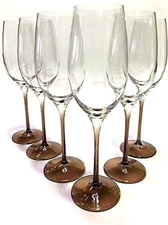 Glasgo Prime Versand Design Champagnerglas Sektglas Sektkelch 6er