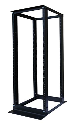 Raising Electronics 42U Network Data IT Server Rack Series System 19 Inch Desktop Open Frame Server Desk Rack Free Stand