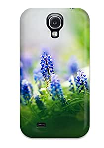 Special Skin Case Cover For Galaxy S4, Popular Muscari Flowers Phone Case 7994949K58627108