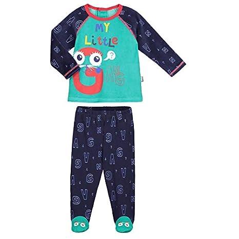 d9fb5971b7a9d Pyjama bébé 2 pièces avec pieds Gang - Taille - 9 mois (74 cm ...