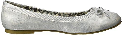 Jane Klain221 794 - Bailarinas Mujer plateado (silver)