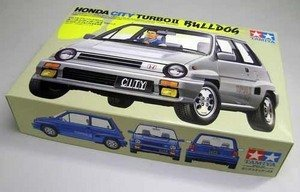 1/24 Sports Car Series 44 Honda City Turbo II Bulldog