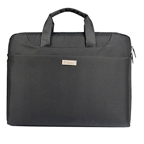 Domybest 13  Multifunktions-Laptop-Handtasche Canvas Business Aktentasche Schultertasche Grau