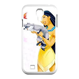 Durable Rubber Cases Samsung Galaxy S4 I9500 White Cell phone Case Cwcpr Pocahontas Protection Cover