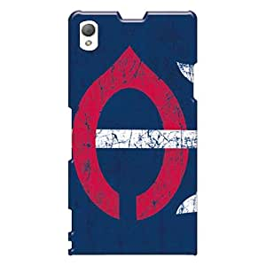 Sony Xperia Z1 YXz7094deyi Unique Design Attractive Minnesota Twins Pattern Scratch Resistant Cell-phone Hard Covers -MarieFrancePitre