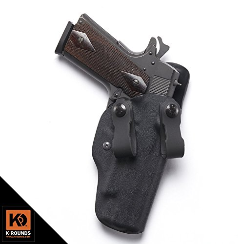 IWB Traditional,Beretta,92-A1, 96-A1,1.75'' Polymer IWB Loop,Right Hand,Adjustable Cant,Black by K Rounds LLC