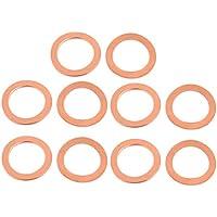16 mm x 20 mm x 0,8 mm Arandela plana de acero inoxidable 304 para tornillos Sourcingmap