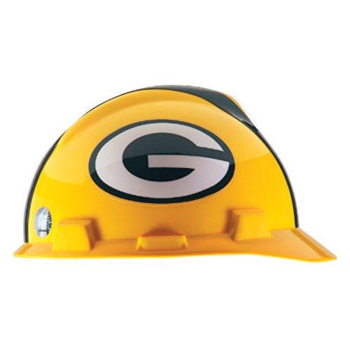 - MSA Officially Licensed NFL V-Gard Caps, Green Bay Packers