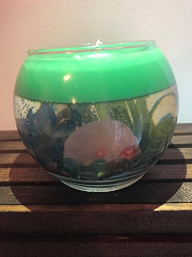 Ocean theme Gel Candle with Akoya Pearl