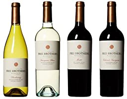 Frei Brothers Reserve Sonoma County Tasting Flight Wine Mixed Pack 4 x 750mL