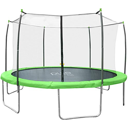 Pure Fun Dura-Bounce 12-Foot Trampoline with Enclosure (Pure Fun 12 Foot Trampoline With Enclosure Set)