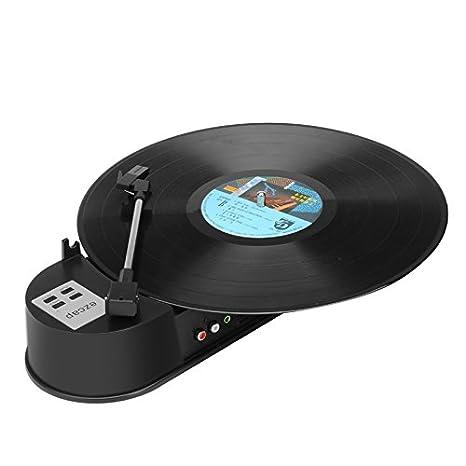 SHOPINNOV-Conversor 33T tocadiscos de vinilo, MP3, WAV USB ...