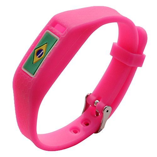 AWINNER Colorful Flag Fitbit Wristband