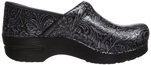 Women's Tooled Mule Dansko Professional Grey Patent dIwzqFz