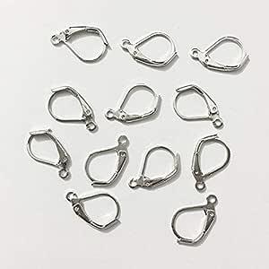 Kidney Hook Loop Leverback Available Drum Earrings