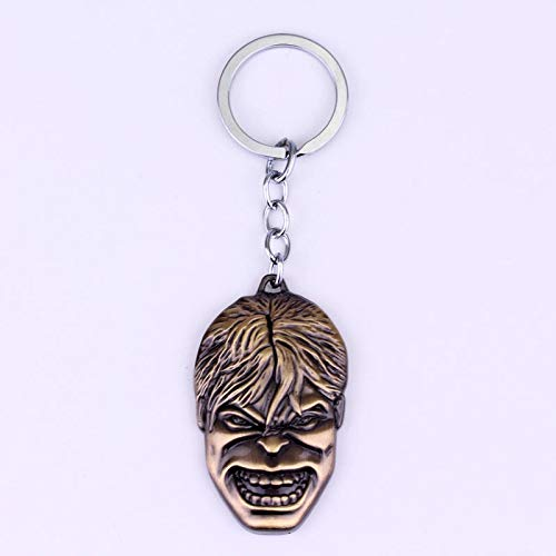 Algol - Hulk Rock Band LOGO Keychain Personality Key chain Cartoon Hulk Keychain Toys Key Chain Ring Key Fob