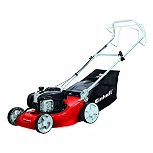 41cWQlx2JYL. SS300  - Einhell GC-PM 46/1 S B&S Self Propelled Petrol Lawnmower with a Briggs and Stratton Engine - Red