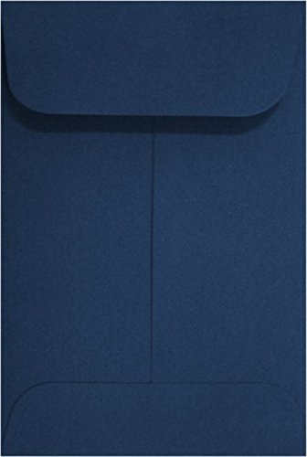 LUXPaper Coin Envelopes, Navy, 2 1/4-Inch x 3 1/2-Inch, 50-Count