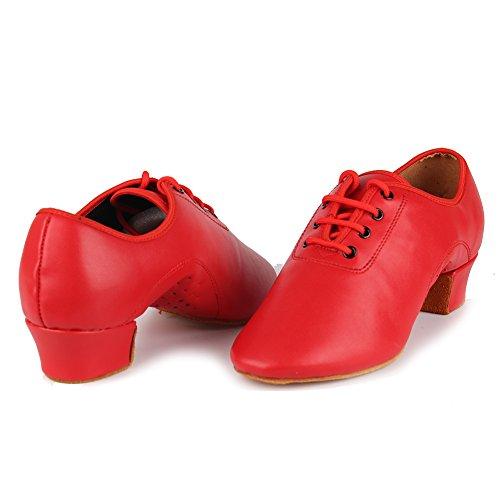 Calzano Ballo Swdzm Standard Ragazzi Modello 701 Rosso I Scarpe Di Degli Del Uomini Pattini q6U06zrt