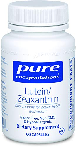 Pure Encapsulations - Lutein/Zeaxanthin - High Strength Blend for Macular Support and Overall Visual Functioning* - 60 Capsules -