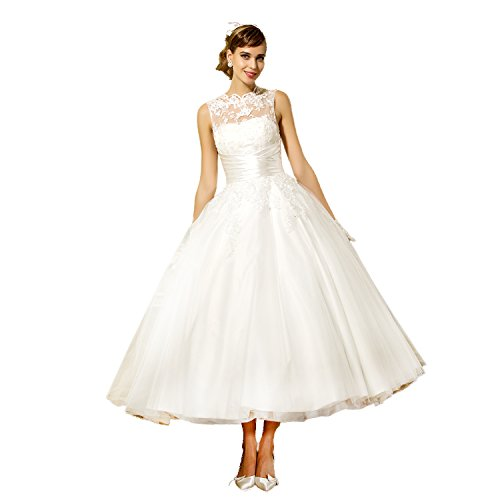 Womens Vintage Princess Wedding Dress product image