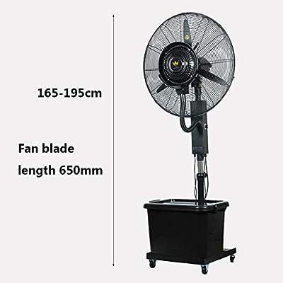 Ventilador de Agua en Spray Pedestal Fan Cooling Nebulizer Fan Altura Extensible Oscilante Girando el Piso Colocando 3 Modos de Viento para el Gimnasio de la Oficina: Amazon.es: Hogar