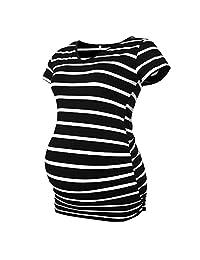 Derssity Women's Maternity Shirt Tops Pregnancy T-Shirt Clothing
