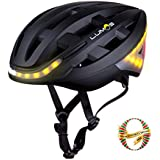 Lumos Smart Bike Helmet Wireless Turn Signal Handlebar Remote Built-in Motion Sensor – 70 LEDs on Front, Rear Sides – CPSC CE Certified Cycling Helmet