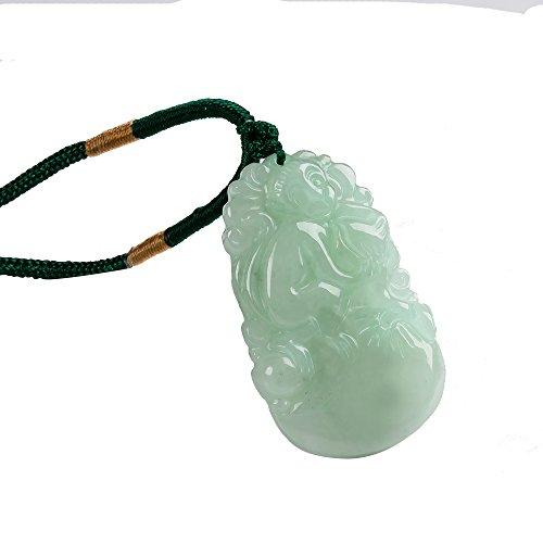 Fulemay Zodiac Pendant,Chinese Traditional Animal Amulet (MONKEY) -