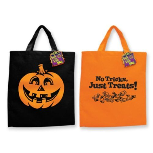 amazoncom halloween trick or treat tote bag sold individually toys games - Halloween Handbag
