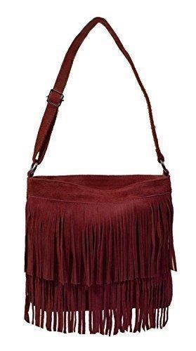 Bags4Less Mujer Tipsi Bolso de bandolera, 10x30x30 cm Rojo