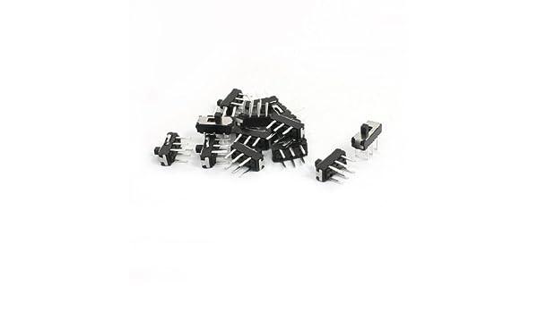 eDealMax a13123100ux0127 1 On/Off Spdt 6 pasador Vertical Mini interruptor de tipo deslizante Dip, 9 mm x 4 mm x 8, 5 mm: Amazon.com: Industrial & ...