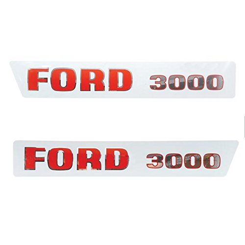 S.8535 Hood Decal Set for Ford New Holland Tractor 3000 (Before 1968)