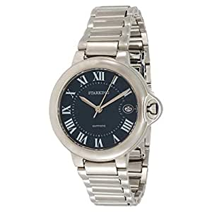 Starking Men's Blue Dial Stainless Steel Band Watch - BL0899SS17