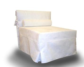 Ponti divani chic poltrona letto singolo con materasso h cm