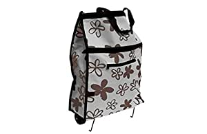 Sage Select Rolling Tote - Easy Fold up to Store - Multi-Purpose - Light Household Tasks, Laundry, Store Crafts & Hobby Supplies