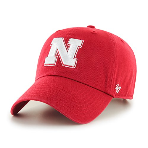 47 NCAA Adult Mens NCAA Clean Up Adjustable Hat, One Size