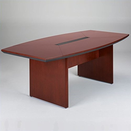 Mayline Corsica Series Boat-Shaped Conference Tables, - Mayline Corsica Boat