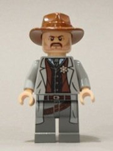 with LEGO Lone Ranger design