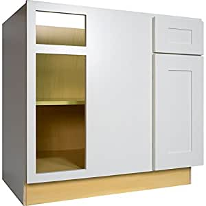 kitchen cabinets amazon everyday cabinets 36 inch blind corner base 2867