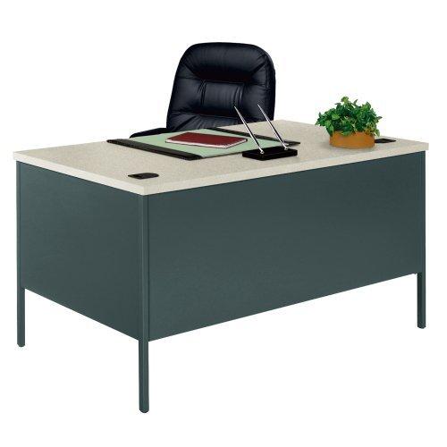 HONP3262G2S - HON Metro Classic Double Pedestal Desk - Hon L-desk