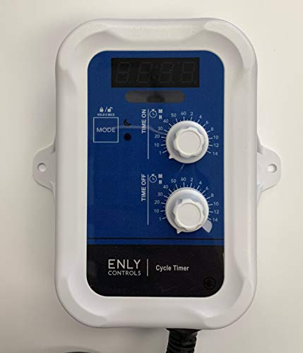 Enly Controls Day/Night Digital Cycle Timer