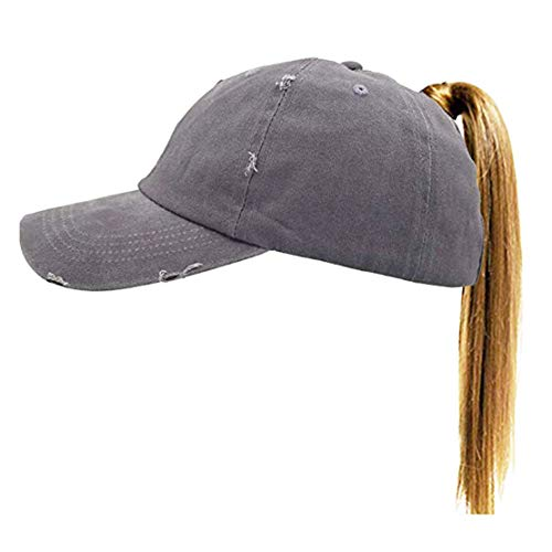 all Hat Distressed Retro Washed Cotton Twill (Grey 2) ()