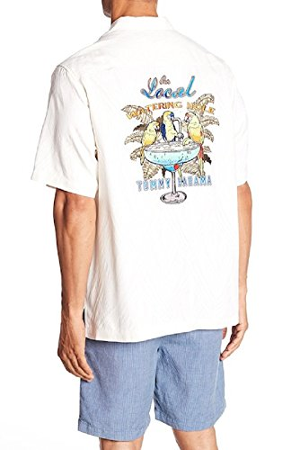 Panel Shirt Camp (Tommy Bahama Men's Local Watering Hole Contintental Large)