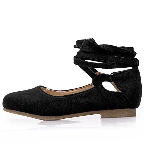 Ballets Flats Zanpa Donna Pumps Comfort Flat 2 black wwF1Hq