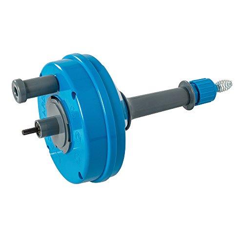 Silverline 987173 buisreinigingsgereedschap voor boormachine, blauw