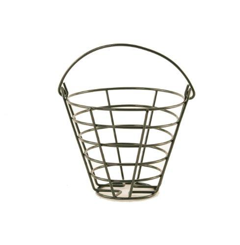 Wald Imports Green Metal Golf Ball Bucket