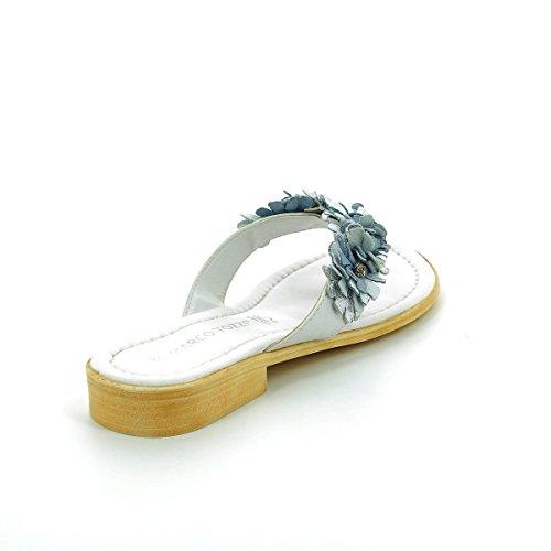 Marco Tozzi Blanc Sandales 27110 Femme Sqn0Sf