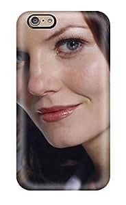 New Premium Flip Case Cover Jennifer Morrison Skin Case For iphone 4 4s(3D PC Soft Case)